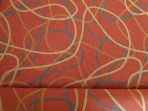 Contract upholstery fabric - tapestry design by Mette Krebs Petersen