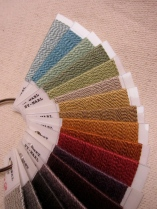 Rayon marl yarn color range